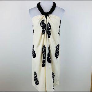 TEMPERLEY LONDON Silk Floral Halter Dress Sz 6